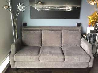 Grey 3 seater couch