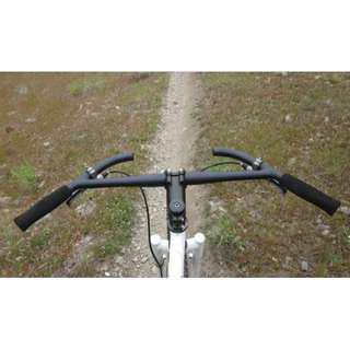 Titec J-bar Bikepacking Handlebar as designed by Jeff Jones