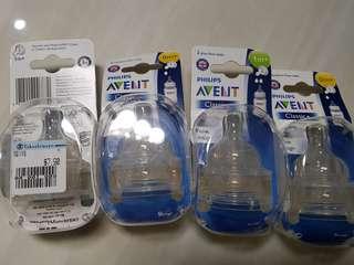 Avent Teats