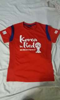 Fifa World Cup Korea in Red
