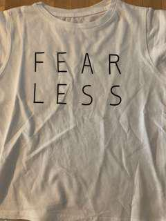 🚚 Fear Less Statement Tee
