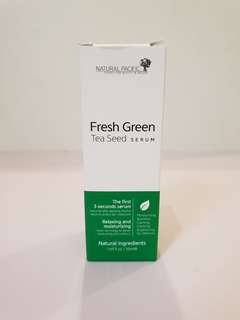 Natural Pacific fresh green tea seed serum