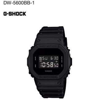 Casio G-SHOCK DW-5600BB-1 全黑@現貨