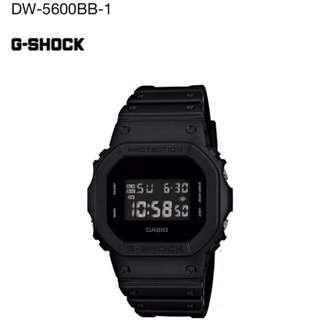 Casio G-SHOCK DW-5600BB-1 全黑@現貨