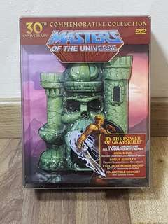 He-Man MOTU 30th Anniversary Commemorative DVD Collection BNIB