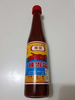 ✈大玩台灣代購✈台灣台中名產東泉辣椒醬420c.c