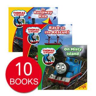 THOMAS THE TRAIN STORY COLLECTION (10 BOOKS)