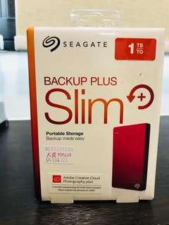 🚚 Seagate 1TB slim harddisk