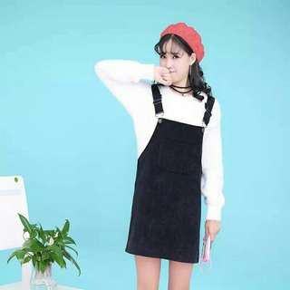 Suede Overall