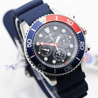 Seiko Sea Prospex PADI SSC663P1 Diver Solar Jam Pria Rubber SSC663