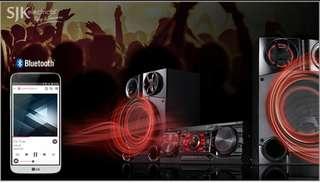 DVD mini hi-fi system DM8360 entertainment system