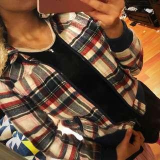 Jacket plaid style