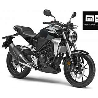 Honda CB300R New Arrive $9k Machine Price D/P $500 or $0 With out insurance (Terms and conditions apply. Pls call 67468582 De Xing Motor Pte Ltd Blk 3006 Ubi Road 1 #01-356 S 408700.
