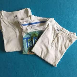 Various shirts