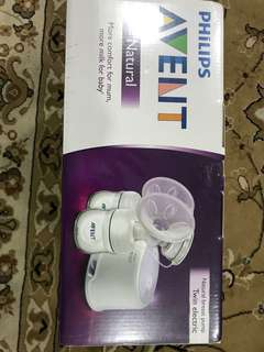 Natural breastpump twin electric