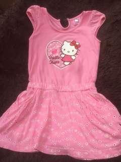 Dress hellokity pink