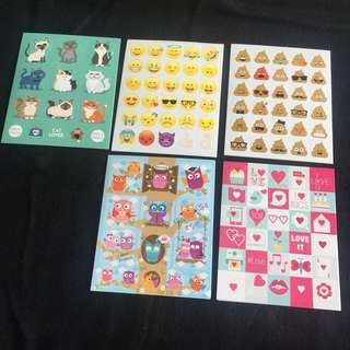 Cute mini stickers