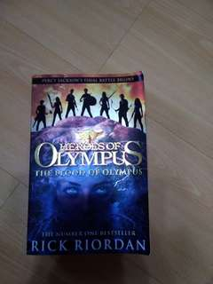 🚚 Heroes of Olympus: The Blood of Olympus