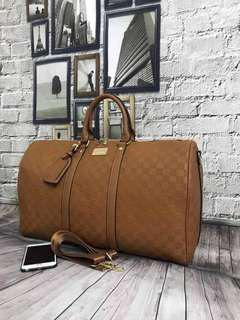 NEW DESIGN LV AND READY STOCK! LV AND GUCCI TRAVEL BAG