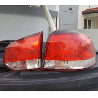 VW Golf mk6 tail lamp both side