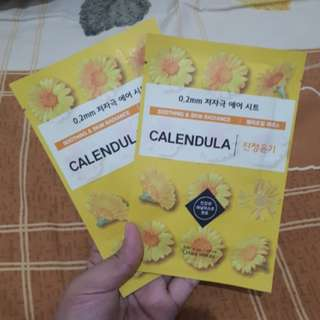 Sheetmask Etude Calendula