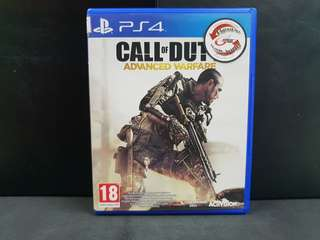 PS4 Call of Duty Advanced Warfare (Used Game)