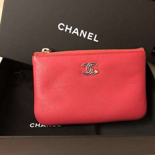 Chanel pouch / mini o case / card holder