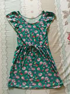 Dress with sweets prints