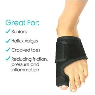 🚚 Unisex Bunion Splint Support Toe Straightener Corrector Brace Pad for Hallux Valgus Pain Relief