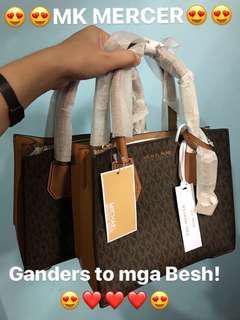 Authentic Mk Mercer Bag