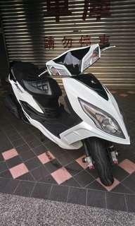 三陽  new fighter 150 雙碟版