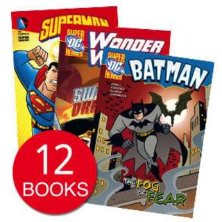 DC SUPERHEROES COLLECTION (12 BOOKS)