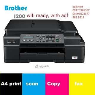 brother j200 printer
