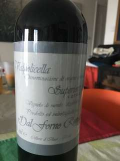 Valpolicella Dal Forno 2004 red wine. FINE&RARE