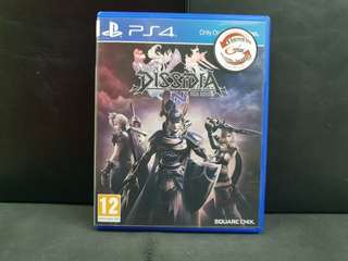 WTS/WTT PS4 Dissidia NT Final Fantasy (Used Game)