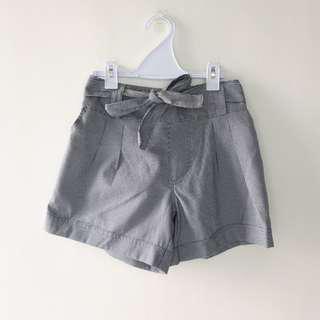 BNWOT Elastic Houndstooth Flare Shorts