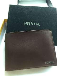 Prada Wallet /牛仔皮/經典款式