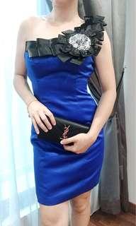 Blue Good quality dinner dress M size