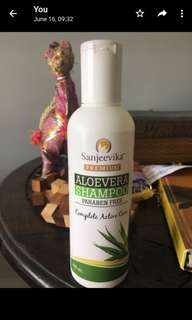 🚚 Sanjeevika Premium Aloevera Shampoo (200ml)