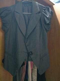 🚚 短袖西裝外套