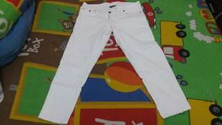 Celana Jeans Warna Putih Susu