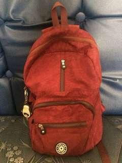 Kipling bag maroon