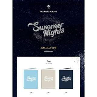 [PREORDER] TWICE 2ND SPECIAL ALBUM - SUMMER NIGHTS