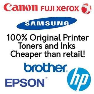 🚚 100% Original, Authentic Printer inks and toners with warranty included