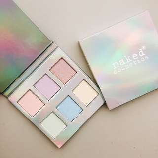 Holographic Highlighter Palette Collection Naked Cosmetics