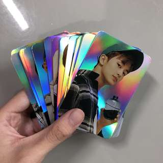 instock nct holographic photocards