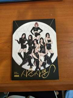 [POSTAGE INCLUDED]AOA like a cat album