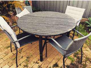 IKEA ANGSO OUTDOOR DINING TABLE SET