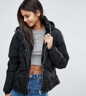 Down Jacket ASOS w/ detachable hood