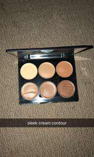 Sleek cream contour